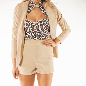 Other - Two piece Blazer and Shorts Set Sz 4